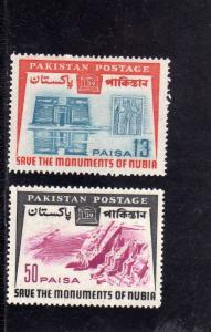 PAKISTAN 1964 ARCHAEOLOGICAL UNESCO world campaign to save historic monuments...