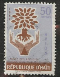 HAITI Scott C191 used airmail stamp 1960 WRY