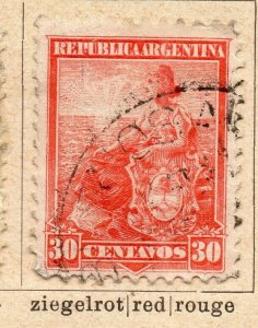 Argentina 1900 Early Issue Fine Used 30c. NW-11768