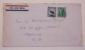 PAPUA USE OF AUSTRALIA STAMPS 1946