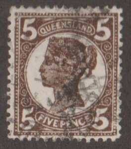 Queensland - Australia Scott #119 Stamp - Used Single