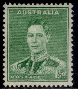 AUSTRALIA GVI SG183, 1½d emerald green, M MINT.