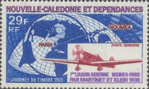 New Caledonia Scott #'s C62 MNH