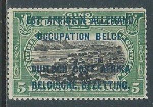 German East Africa, Sc #N17, 5c MNG