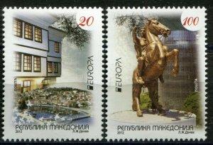 140 - MACEDONIA 2012 - Europa Cept - Hors - MNH Set