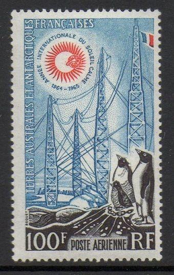 FSAT TAAF 1963 Radio Towers Penguins VF MNH (C6)