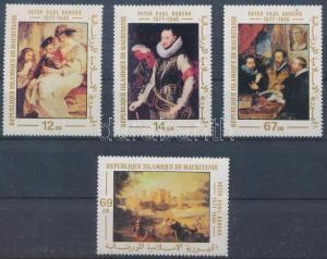 Mauritanie stamp Painting set MNH 1977 Mi 590-593 Paintings WS231855