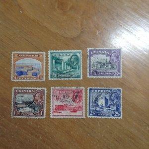 Cyprus  # 125-30  Used
