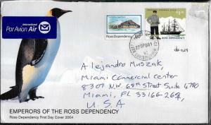 AANT-73 ROSS DEPENDENCY 2004 ANTARCTICA ANTARCTIC COVER