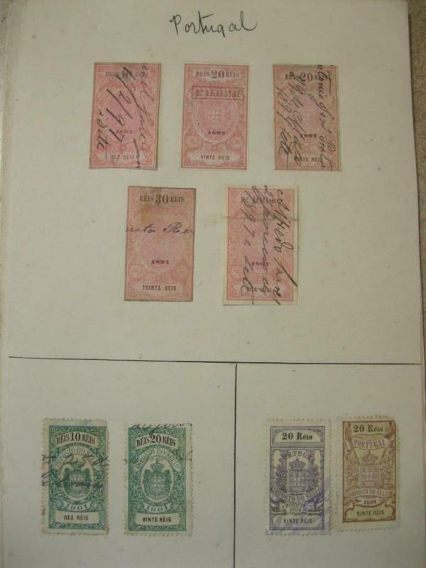 COLLECTION OF PORTUGAL REVENUES ETC
