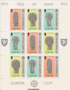 Isle of Man Scott 131-133 Mint never hinged.