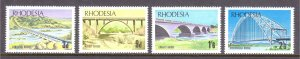 Rhodesia - Scott #271-274 - MNH - SCV $5.50