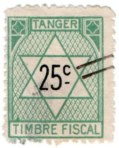 (I.B) France Colonial Revenue : Tangier Duty 25c