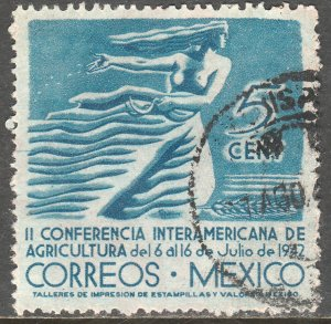 MEXICO 778, 5c Agricultural Conference. Used. F-VF. (738)