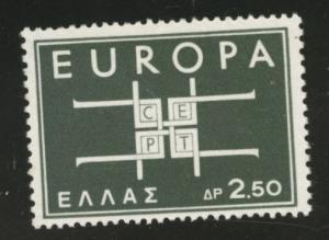 GREECE Scott 768 MNH** 1963 Europa shot set CV$2.25