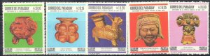 PARAGUAY SC# 1060-64 **MH** 1967  MEXICAN ART   SEE SCAN