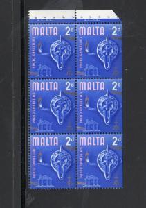 MALTA #315a    1970  2p  SCULPTURE  MINT  VF NH  O.G B/P6