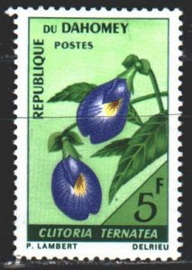 Benin. 1967. 300 from the series. Flowers, flora. MNH.