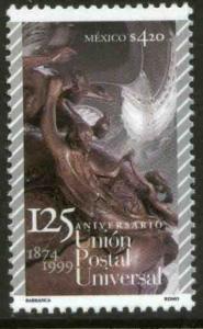 MEXICO 2166, Universal Postal Union 125th Anniversary. MINT, NH. VF.