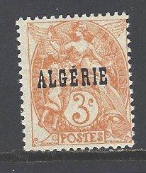 Algeria Sc # 3 mint hinged (RS)