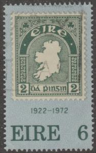Ireland, Scott# 326,  used, tall stamp, 1st Irish postage stamp,  #m032