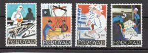 Faroe Islands 201-204 MNH