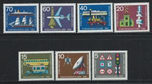 GERMANY SC# 919-25 F-VF LH 1965