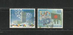#262 - #263 UN, 40th Anniv.