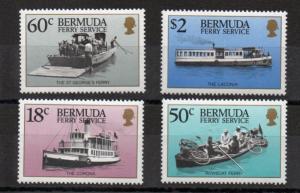 Bermuda 551-554 MNH