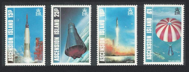 Ascension 25th Anniversary of First American Manned Earth Orbit 4v SG#428-431