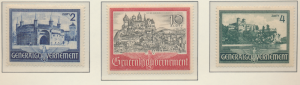 Poland, German Occupation Stamps Scott #N73 To N75, Mint Hinged - Free U.S. S...
