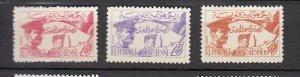J25949  jlstamps 1957 tunisia set mnh #312-4 soldiers