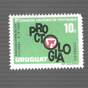 Uruguay 1963 - M - Scott #704 *