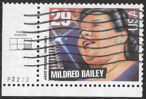 US 2860 Used - American Music Series - Jazz Singers - Mildred Bailey - PNS
