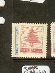 LEBANON (B0801) CEDARS TREE SG559-0 MNH