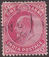 India 62 Hinged Used 1902 King Edward VII