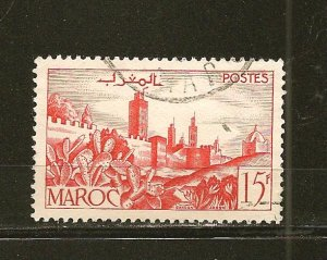 French Morocco 246 Used