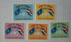 Paraguay sc#569-571 C272-C273 Mint MH set