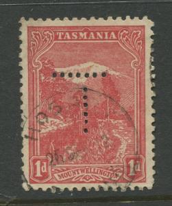 Tasmnia  #103  FU  1905 Single 1d Stamp