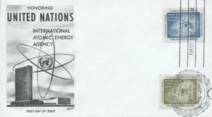 UN #59/60 ATOMIC ENERGY - Fleetwood Combo