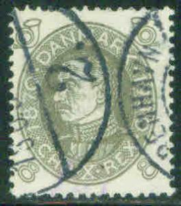 DENMARK  Scott 212 complete 1930 Christian X CV$16