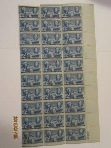 SCOTT 947 WASHINGTON AND FRANKLIN 1947 OG