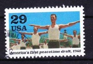 2559b WWII - Peacetime Draft Used Single