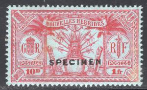 NEW HEBRIDES-FRENCH SCOTT 52