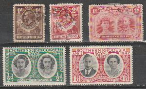 Rhodesia(North & South, British South Africa) Mint OGH & Used