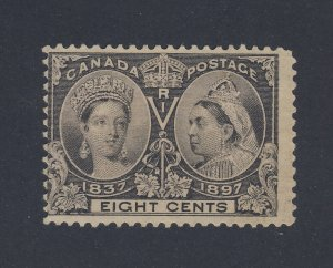 Canada Stamp #56-8c Victoria Jubilee Used Fine Guide Value = $30.00