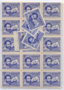 Canada - 1963 Martin Frobisher Explorer X 100 mint #412 - NH
