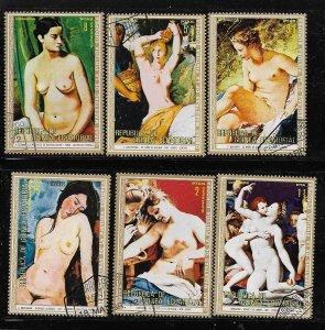 Equatorial Guinea   Famous Nude Paintings   Lot 1