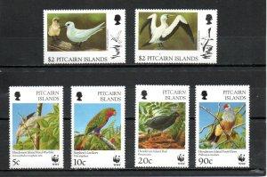 Pitcairn #457-462 MNH