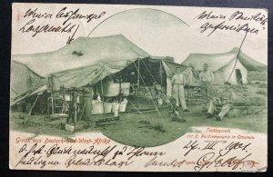 1901 Omaruru German East Africa RPPC Postcard Cover to Meissen Germany